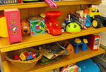 Used toys and sports equipment for sale at the What Not Shop